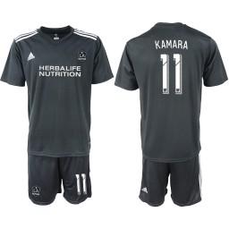 2018/19 Los Angeles Galaxy #11 KAMARA Training Authentic Jersey - Black
