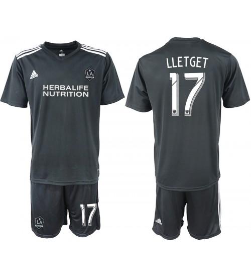 2018/19 Los Angeles Galaxy #17 LLETGET Training Replica Jersey - Black