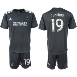 2018/19 Los Angeles Galaxy #19 JUNINHO Training Replica Jersey - Black
