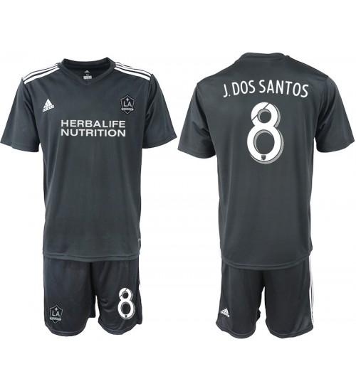 2018/19 Los Angeles Galaxy #8 J.DOS SANTOS Training Authentic Jersey - Black