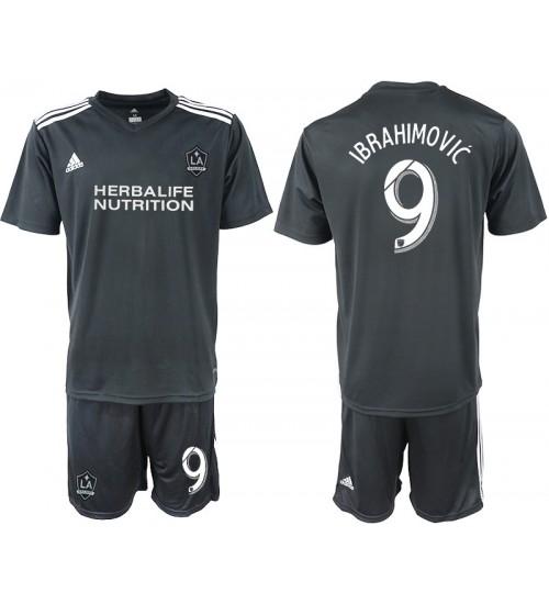 2018/19 Los Angeles Galaxy #9 IBRAHIMOVIC Training Authentic Jersey - Black