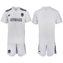 2018/19 Los Angeles Galaxy Training Authentic Jersey - White
